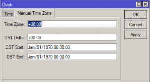 Настройка времени и даты в MikroTik_2