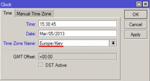 Настройка времени и даты в MikroTik_3