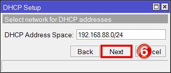 Настройка IP адрес локальной сети MikroTik